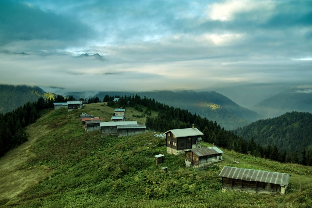 Dawn in Pokut Plateau